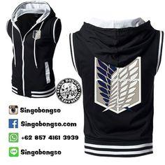 Vest SNK black Price : IDR 209000 / USD 26 Material : Cotton Fleece Application : Screen Printing Delivery from Indonesia Contact : ORDER BBM : 590007F2 WA : 62 857 4161 3939 LINE : singobongso RESELLER BBM : 7D7993CF WA : 62 89 659 326 456 email : singo.bongso@gmail.com Facebook http://ift.tt/1VLnZ12 http://ift.tt/1XzdPBW Instagram http://ift.tt/1OhgqcD http://ift.tt/210r841 Singobongso Anime Clothing Jaket Anime   Kaos Anime   Store Anime   Tas Anime   Jaket Naruto   Jaket Akatsuki  ...