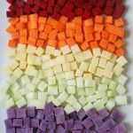 toddler vegetable finger foods: cube, coat in olive oil, bake at 350 for approx. 30 minutes, stirring in between. Toddler Vegetables, Baby Finger Foods, Baby Foods, Little Lunch, Toddler Snacks, Baby Snacks, Baby Eating, Baby Led Weaning, Homemade Baby