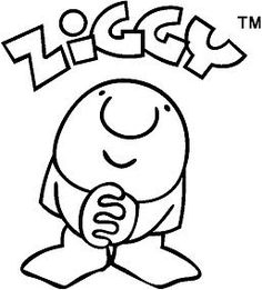 Ziggy cartoon, I loved greetings cards with this character on them