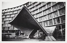 Syracuse University Unveils First Phase of Marcel Breuer Digital Archive,UNESCO Headquarters, Construction Photograph / Architect: Breuer-Nervi-Zehrfuss Architectes / Photographer: Lucien Hervé
