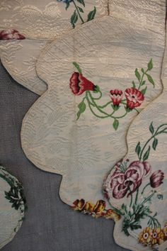 Premier 18th century Spitalfields textile designer Anna Maria Gathwaite designed…