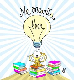 Me encanta... @Nikgaturro Reading Art, Reading Quotes, Teach Me Spanish, Teaching Memes, Class Memes, Spanish Posters, Grammar Book, Classroom Walls, Wall Drawing