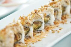 Restaurant Review: Nu Asia Vegan - Salmon crunch roll