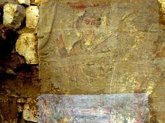 SCOPRETA A Ossirinco da una tomba del VI secolo una stele raffigurante un uomo benedicente, che potrebbe essere una delle più antiche rappresentazioni del Cristo.