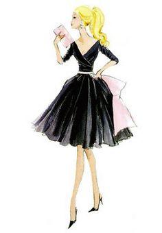 vintage barbie print Classy edition, classy taste = better