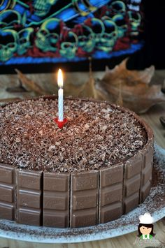 Mis chucherias: Tarta Milka (Milka cake)