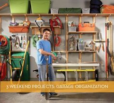 3 Garage Organization Projects You Can Do In A Weekend