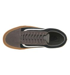 Vans Old Skool Two Tone Navy Citrus Uni Sports Office Shoes Pinterest And