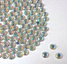 Diamante Me Crystal AB Size 6mm Hotfix / Iron On / Flat Back Rhinestones AA Grade: Amazon.co.uk: Kitchen & Home