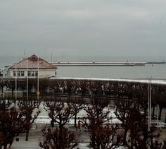 W Sopocie powoli robi się biało