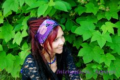 Sacred Geometry Headband Dreadband Dread by IntergalacticApparel