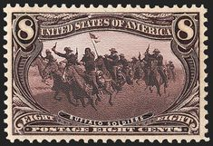 Buffalo Soldiers, US Postage Stamp