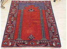 141x103 cm Nomaden Belotsch gebetsteppich Teppich Afghan Carpet prayer rug No:70