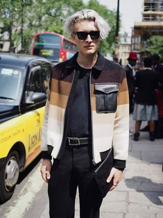 London Fashion by Paul: Street Muses...Magnus Ronning LCM Spring/Summer 20...