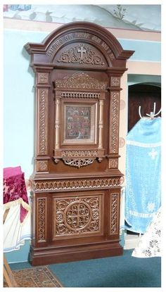 напольный киот, Островоезерский монастырь г. Ворсма image 2