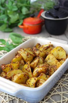 Patatas deluxe o cajún al microondas - Expect Tutorial and Ideas Cajun Microwave, Microwave Recipes, Kitchen Recipes, Potato Recipes, Vegan Recipes, Le Chef, Chicken Wings, Tapas, Healthy Life
