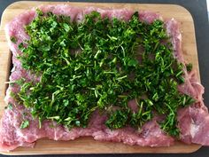 Pieczeń świąteczna - Blog z apetytem Couscous, Seaweed Salad, Pork Recipes, Food And Drink, Herbs, Favorite Recipes, Beef, Cooking, Ethnic Recipes