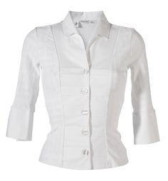 Naracamicie - Naisten paitapusero, valkoinen, punainen ja turkoosi   (hinta tähän)