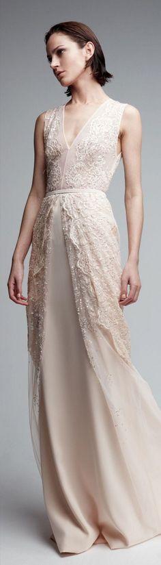 Georges Hobeika white maxi dress @roressclothes closet ideas #women fashion outfit #clothing style apparel