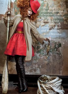 """""""Beyond The Looking Glass"""" Strand Arcade Autumn/Winter 2011"""