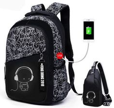 boys school bags letters waterproof large backpack for teenagers high school backpack for boy student casual travel bag Cheap School Bags, School Bags For Boys, Backpack Pattern, Men's Backpack, Boys Backpacks, School Backpacks, Casual Bags, Handbag Accessories, Luggage Bags