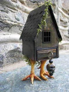 Baba Yaga Matchbox House Craftster
