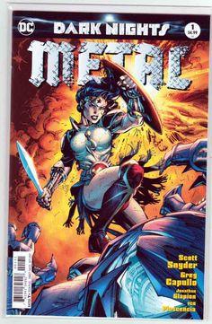 Dark Nights Metal #1 (2017) Jim Lee Cover, Scott Snyder Story, Greg Capullo & Danny Miki Pencils