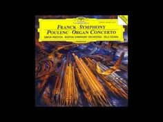 Poulenc Organ Concerto: This is a wonderful synthesis of the sacred with the secular mirroring the concurrent mindset of man experiencing a spectrum from the joyfulness of life and the contemplation in reflection. Francis Poulenc, G Minor, Cd Art, Some Words, Classical Music, Spectrum, Mindset, Reflection, Youtube