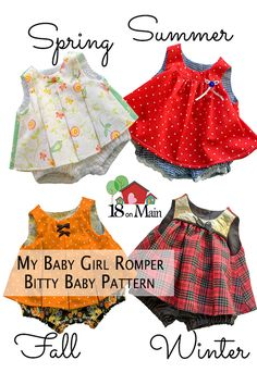 Sew up some Romper fun that will last the whole year through!!  Be rewarded with kisses that go on forever!!