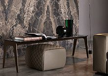 Minotti Corner Desk, Study, Furniture, Home Decor, Corner Table, Studio, Decoration Home, Room Decor, Home Furnishings