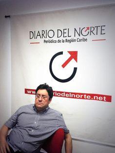 Atendiendo entrevista en El Diario del Norte. @PachoSantosC