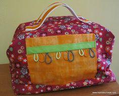 Neceser Patchwork Basket Bag, Baskets, Lunch Box, Handmade, Bags, Toss Pillows, Handbags, Hand Made, Hampers