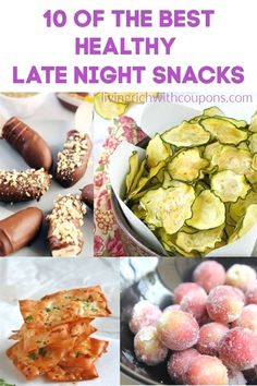 If you like to snack late at night, I have a list of healthier options for you! Here are my top 10 favorite healthy late night snacks. #healthylatenightsnacks #snackideas #healthy Healthy Late Night Snacks, Good Healthy Snacks, Easy Snacks, Healthy Eating, Healthy Recipes, Healthy Options, Healthy Meals, Quesadilla, Late Night Dinner