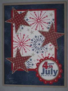 Crazy About Crafts: 4th of July Cards 2010