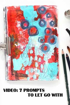 Need help getting art done and creating? Try these 7 prompts to let go with. A new art video from Kim Dellow. #KimDellow #painting #acrylicpaint #art #artjournal #artjournalpage #mixedmedia #artjournaling Do Your Own Thing, Art Prompts, Art Uk, Art Journal Pages, Book Of Life, Art Tips, Community Art, Art Tutorials, New Art