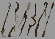 staff weapon - Google Search