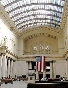 Cityscapes: Amtrak moves ahead with plans to revamp Chicago's historic Union Station; picks Jones Lang LaSalle to head effort Chicago Hotels, Chicago Usa, Chicago Trip, Chicago City, Chicago Illinois, Vacation Places, Vacation Trips, Union Station Chicago, Wisconsin