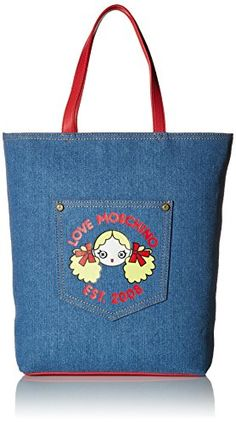 Love Moschino JC4263PP01KH0750 Tote Bag Multi One Size ** Click image for more details.
