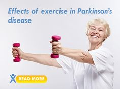 Effects of #exercise on #Parkinson's disease. #health