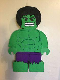 hulk pinata, the incleible hulk pinata. Hulk birthday party. Hulk party decoration. Hulk birthday party supplies.   Happy Party