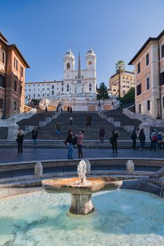 Spanish Steps, Rome, Italy - I've been there, but not with my lady.