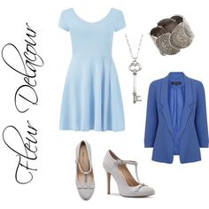 """Fleur Delacour"" by ravenclawprefects on Polyvore"