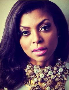 Editorial: Taraji P. Henson By Allen Cooley For Upscale Magazine April 2014 - Art Becomes You Kevin Costner, Beautiful Black Women, Beautiful People, Stunning Women, Upscale Magazine, Hollywood, Karate Kid, Black Actresses, Black Actors