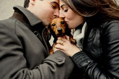 I just adore this picture...especially with the dachshund.  Lovely!! @Sofia Nordgren Mathiesen