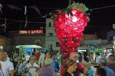 "August 30th- Sept.1st, 2014 - FESTA TE LU MIERU (The Wine festival) in Carpignano-Lecce (Apulia, Southern Italy) ""Festa te lu Miero"" closes the Salento summer season. Street fun, street food, loads of people enjoying themselves. If you're in Apulia region end of August, this is an event not to be missed out!"