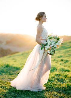 Peach Spring Wedding Ideas