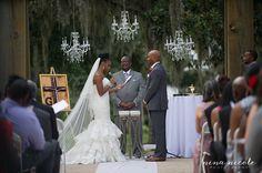 Tallahassee Wedding I Nina Nicole Photography I missionsanluis.org