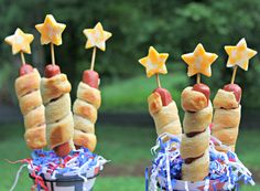 Celebrate in style with these 18 patriotic food ideas for the 4th of July. You'll be surprised at the red, white and blue dishes you can make!