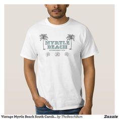 Vintage Myrtle Beach South Carolina Est 1938 T-shirts
