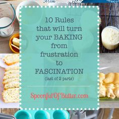 10 Tips That Will Turn Your Baking from Frustration to Fascination (last of 2 parts) How To Make Wedding Cake, Diy Wedding Cake, Homemade Vanilla Cake, Digital Food Scale, Tall Cakes, Batter Recipe, Iced Tea Recipes, Parmesan Crusted, Baked Fish